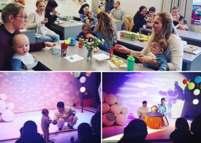 Aktivitet med baby, Teater DA-DA-DA