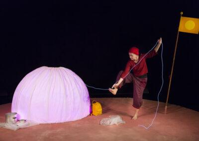Aktivitet med baby, Teater Tre