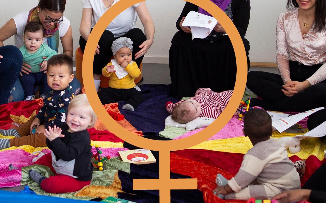 Vi hyllar kvinnors engagemang för integration och jämställdhet!