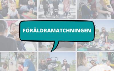 Svenska med baby och Yrkesdörren matchar småbarnsföräldrar!